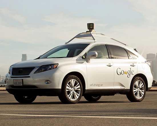 robot-car-google-droverless-vehicle