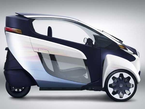 Toyota launches i road 3 wheel electric car geniusgadget