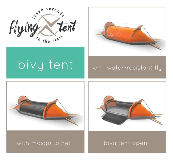 productsheet bivy tent flying tent hammock   geniusgadget  rh   geniusgadget
